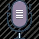 equipment, microphone, mike, performance, resonator, speaker, vintage