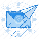 email, marketing, news, newsletter icon