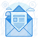 advertising, email, newsletter icon