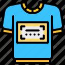 advertising, custom, shirt, suit icon