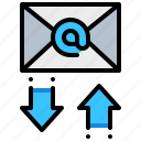 document, email, file, mail, transfer