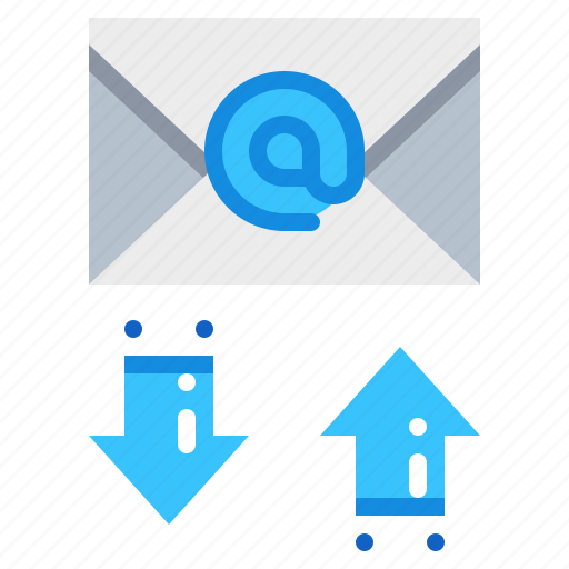 document, email, file, mail, transfer icon