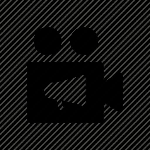 advertising, business, finance, marketing, megaphone icon