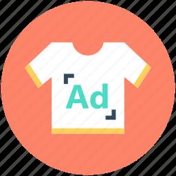 promotional clothing, promotional wear, shirt, t shirt advertising icon