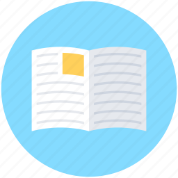 jotter, notebook, notepad, scratch pad, writing pad icon