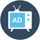 ad, advertising, marketing, media, promotion icon