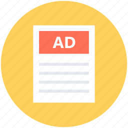 ads paper, advertisement, classifieds, classifieds news, classifieds paper icon