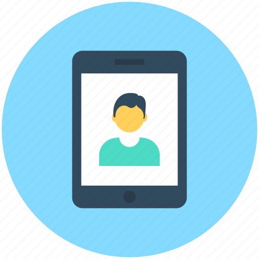mobile, video call, video chat, video conference, voice chatting icon