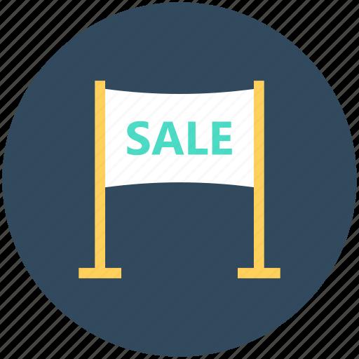 advertisement, advertising, advertising board, billing board, sale billboard icon