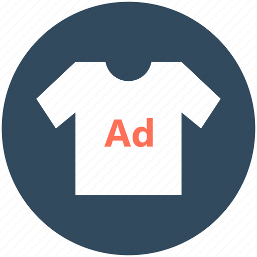 promotional clothing, promotional wear, shirt, t shirt advertising icon