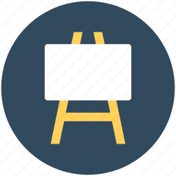 ad board, advertisement, easel board, road advertising, road signage icon