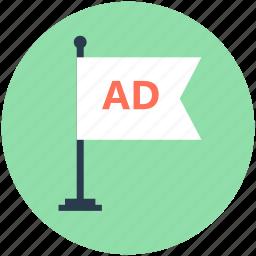 advert, advertisement, billboard, road advertisement, street ads icon