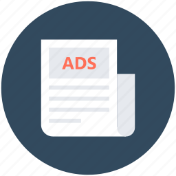 ads paper, classifieds, classifieds news, classifieds paper, communication icon