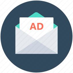 ad, advertisement, advertising, banner, email marketing icon
