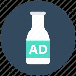 ads, beverage label, bottle, bottle label, drink bottle icon