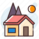 house, family house, property, home, real estate