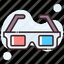3d glasses, eyewear, glasses, stereo glasses, stereoscopic glasses