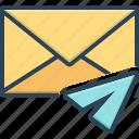 communication, direct, envelope, inbox, message, notification, reminder