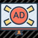 ads, advertisement, broadcasting, marketing, promotion, television, tv