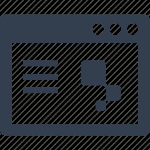 internet, web, web page, windows icon