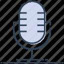 mic, microphone, record, speak, voice icon