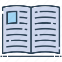 book, jotter, notebook, notepad, scratch pad, writing pad icon