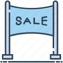 advertisement, advertising, billing board, board, sale, sale billboard icon