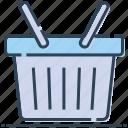 basket, buy, commerce, online store, shopping, shopping basket icon