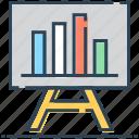bar, board, chart, graph, presentation, statistics