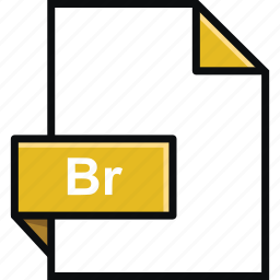 adobe, br, bridge, extension, format, platform, software icon