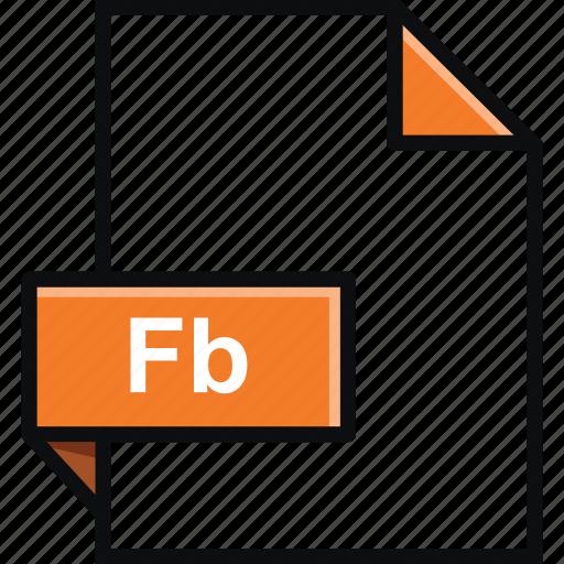 adobe, builder, extension, fb, flash, format, platform, software icon