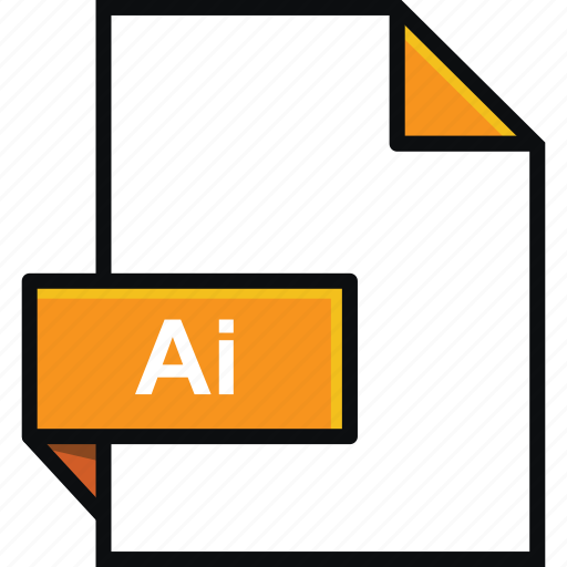 adobe, ai, extension, format, illustrator, platform, software icon