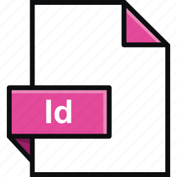 adobe, extension, format, id, indesign, platform, software icon