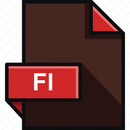 adobe, extension, fl, flash, format, platform, software icon