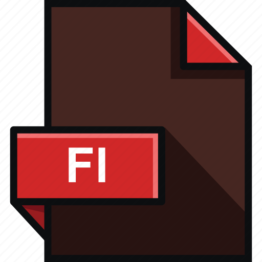 adobe, extension, fl, flash, format, platform, software icon
