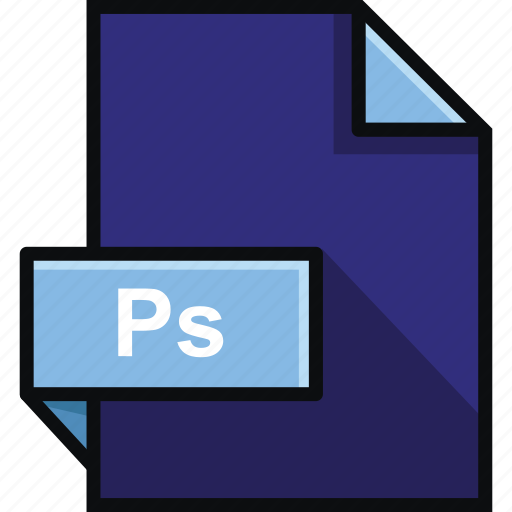 adobe, extension, format, photoshop, platform, ps, software icon