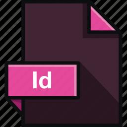 adobe, file, format, id, indesign, platform, software icon