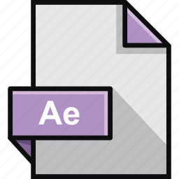 adobe, ae, after, effects, extension, format, platform icon