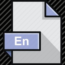 adobe, en, encore, extension, format, platform, software icon