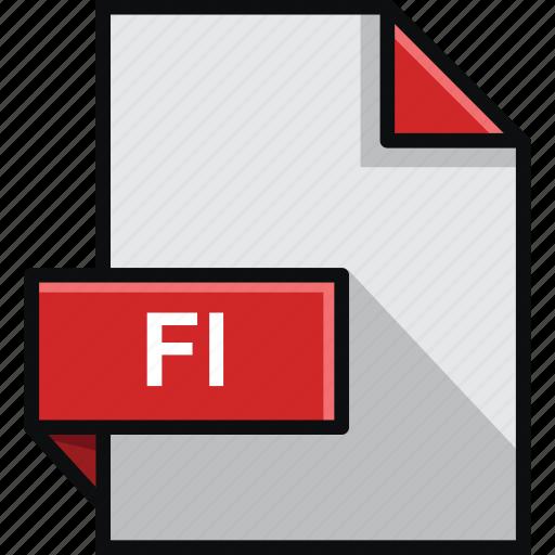 adobe, document, extension, fl, flash, platform, software icon