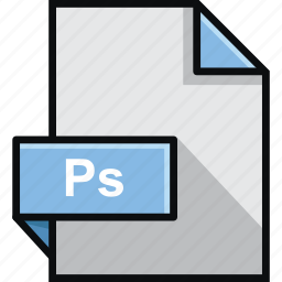 adobe, document, extension, format, photoshop, platform, ps icon