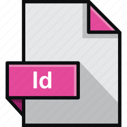 adobe, extension, file, id, indesign, platform, software icon
