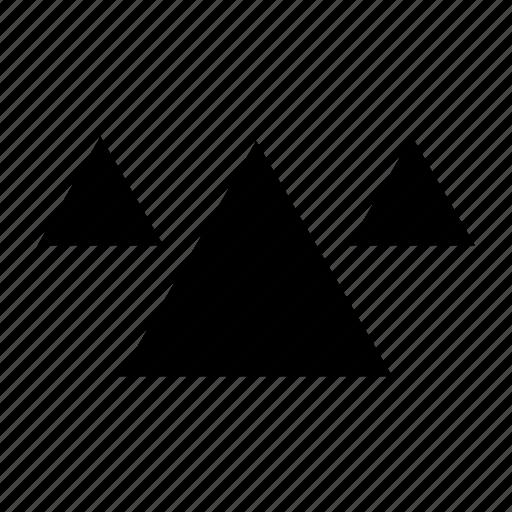 egypt, egyptian, pyramid, pyramids icon