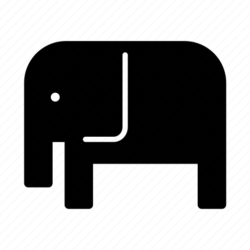 africa, african, animal, elephant icon