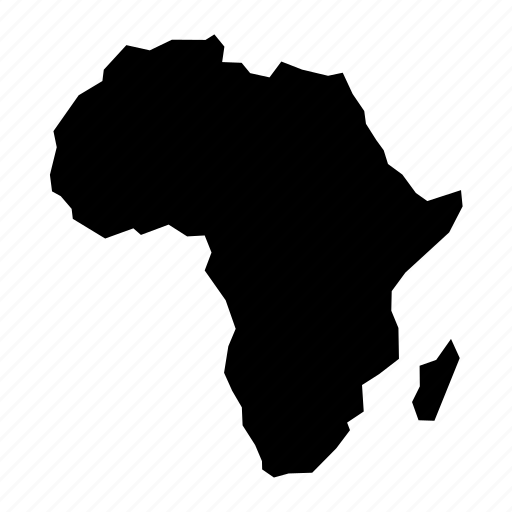Africa, african, continent, geography, map icon
