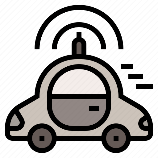 Car, transport, vehicle, automatic car, driverless car icon - Download on Iconfinder