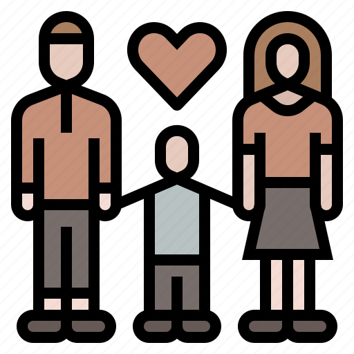 family, father, home, mother, people icon