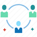 agile, collaboration, coordination, management, teamwork, work flow