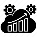 analytics, dashboard, graph, reports, sprint, sprint comparision icon