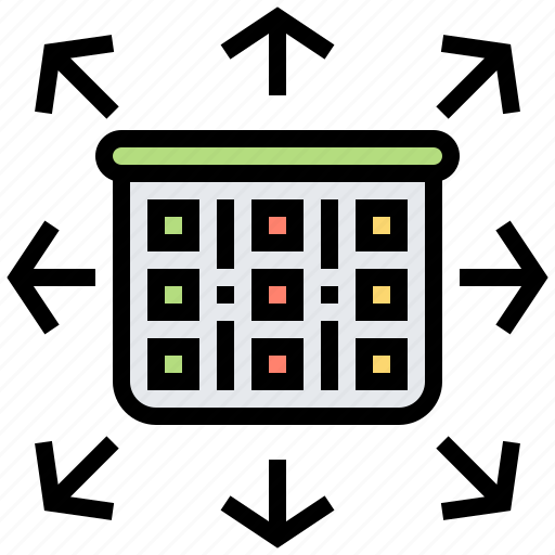 box, planning, scrum, sprint, time icon